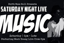 Noah Young LIVE at Perth Mess Hall