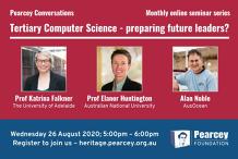 Pearcey Conversations: Tertiary Computer Science - preparing future leaders?