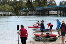 7 am Saturday Paddleboarding and Kayaking Currumbin Creek