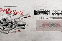 ThrashBlastGrind w/King Parrot, Exhumed, King, Theories - Adelaide
