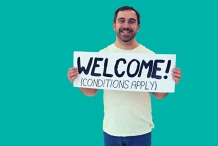 Yianni Agisilaou Australia Says Welcome (Conditions Apply)