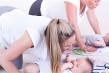 Mama and Baby Yoga and Massage