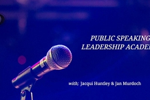 Public speaking & Leadership Academy Annual members and Guests free  ticket