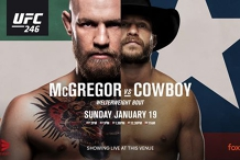 UFC McGregor vs Cowboy LIVE AT Fat Freddy's