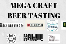 Mega Craft Beer Tasting