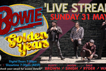 Bowie: Golden Years LIVESTREAM From Memo Music Hall