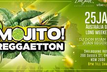 Reggaeton - Shelbourne Hotel - Mojito