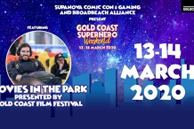 Movies in the Park at Gold Coast Superhero Weekend