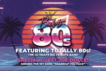 Back to the 80s party   Over 30s (extra age leeway)