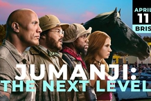 Jumanji: The next level @Mov'in Bed