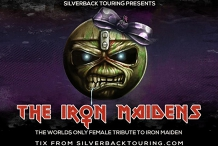The Iron Maidens - Time on Earth support ticket