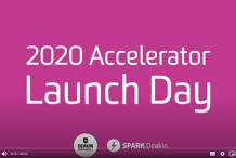 SPARK Deakin Launch Day 2020