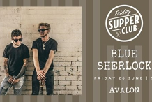 Friday Supper Club with Blue Sherlock