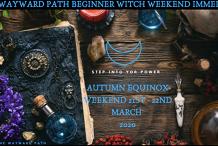 The Wayward Path Beginner Witch Weekend Immersion