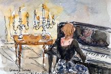 JOANNA'S CANDLELIT SOIREE'S AT KIDOGO WITH GEMMA TURVEY
