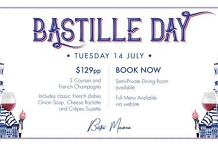 Bastille Day at Bistro Mosman