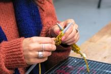 Knit & Sip! Make a Cosy Scarf