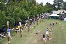 Red Hill Show Woodchop