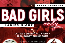Bad Girls Only Ladies Night