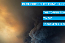 Bushfire Fundraiser Gig @ The Toff