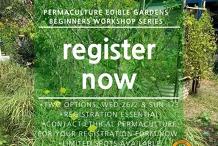 Permaculture Edible Garden Beginner Workshop Series