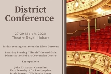 Rotary Tasmania District Conference