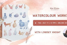 Online: Watercolour Workshop with Lyndsey Knight