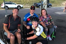 Handcycle Track Training