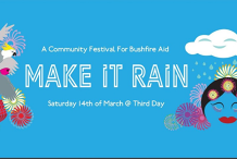 Make It Rain: A Community Festival for Bushfire Aid