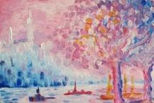 Signac's The Seine at St Cloud