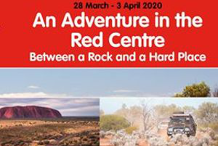 Variety SA 4WD Adventure 2020 - 'An Adventure in the Red Centre'