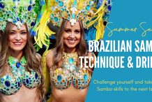 Meetup - Brazilian Samba Intermediate - Advanced Dance Classes