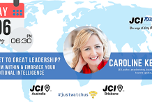 JCI TOGETHER series: Caroline Kennedy - The Secret to Great Leadership? Lead From Within & Embrace Your Emotional Intelligenc