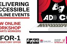 Delivering Accessible Online Events Workshop 2 Sep 2020
