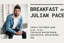 Serenity Wellness Collective Charity Event - Breakfast with Julian Pace