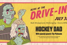 Hockey Dad Alive At The Drive-In