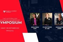 The Australian Women's Leadership Symposium- Hobart