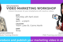 Beginners Video Marketing Workshop - Plan, Produce & Publish (Full day)