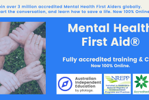 Mental Health First Aid Online - Blended Community Course