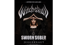 Witchskull - A Driftwood Cross - Album Launch with SWORN SOBER and JUGGERNAUT