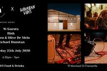 Winter Warehouse Series w/Ilish,  Reuben & Olive De Melo, Michael Dunstan