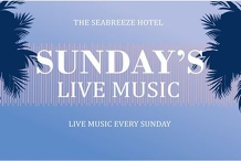 Grace & Geoff // LIVE at The Seabreeze Hotel