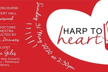 Musicus Medicus - Harp to Heart - The Concourse // Rescheduled