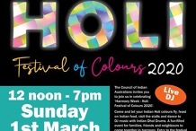 Holi 2020 - Festival of Colours!