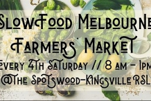 Slow Food Melbourne Farmers' Market