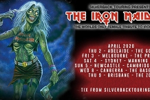 The Iron Maidens - Seraphic & Black Whiskey support ticket