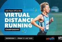 Team UTS at UniSport Virtual Distance Running Championships