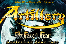 Artillery - The Face of Fear Australian Tour