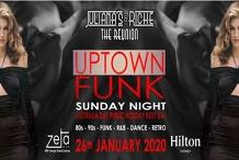 Uptown FUNK Julianas & Riche The Reunion 26-1-20 at Zeta Bar