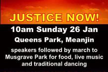 Brisbane Invasion Day March and Rally #AbolishAustraliaDay